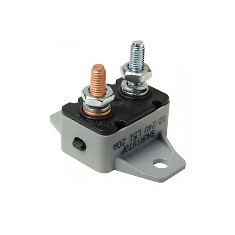 50 amp manual reset inline circuit breaker 12 volt boat for 50 amp circuit breaker for trolling motor