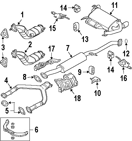 Volvo V40 Engine Diagram moreover Mercury Mountaineer Catalytic Converter Diagram as well Nissan Sentra Wiring Diagram Serpentine Belt in addition 171599919502 besides Discussion T18019 ds696006. on parts of a catalytic converter