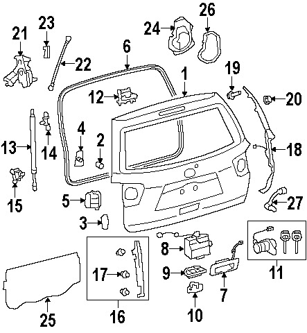 2007 Honda Accord Front Bumper Diagram also 171599997548 together with Garrett Rebuild Kit For Chevrolet Duramax Diesel furthermore Engine Diagram likewise Floor Pick Up Box Scat. on toyota oem parts diagram