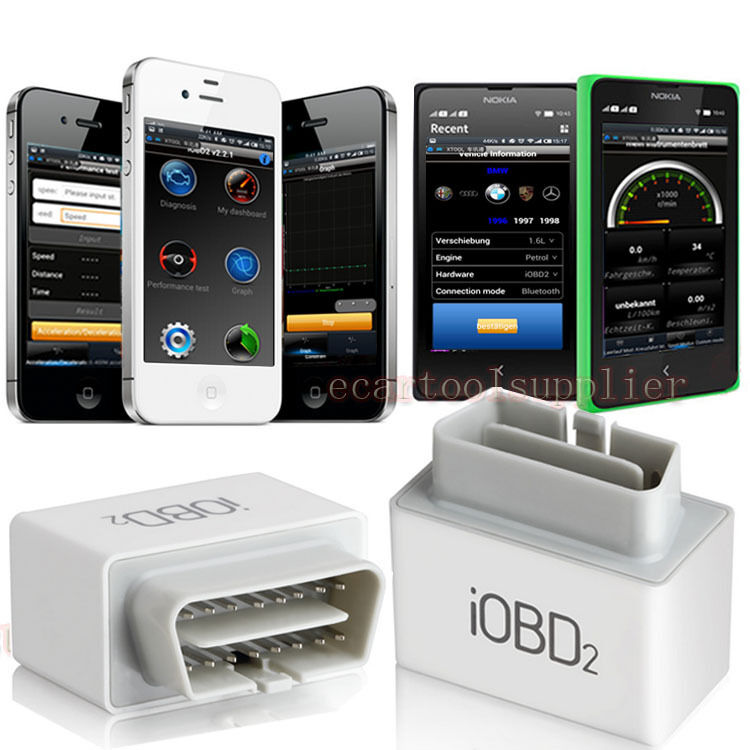 Xtool iobd2 engine code reader diagnostic bluetooth for Ebay motors app for android