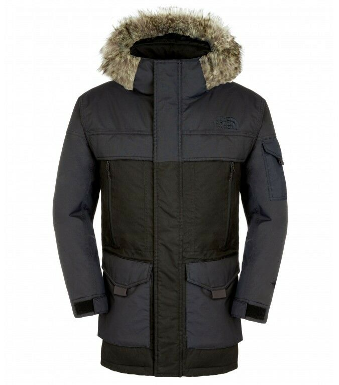 the north face mens mcmurdo parka 2 down insulated waterproof only ebay. Black Bedroom Furniture Sets. Home Design Ideas