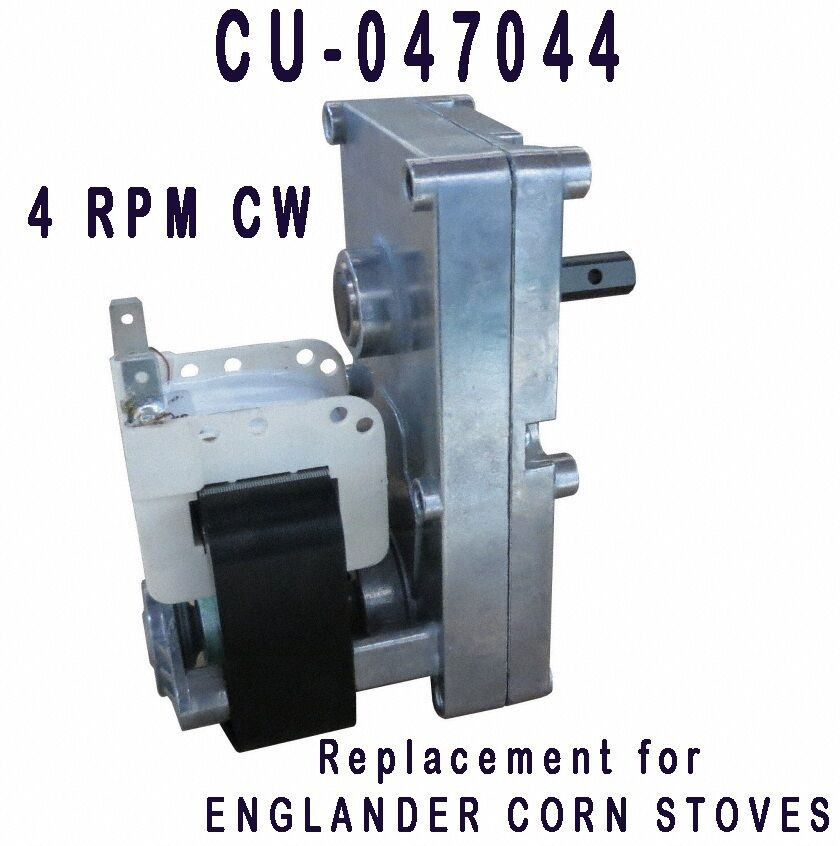 Englander CDV Auger Feed Motor XP7004 4 RPM Clockwise