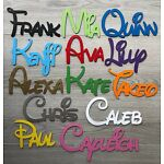 DISNEY Personalised Wooden Name Plaques Words/Letters Wall/Door Art/craft/Sign