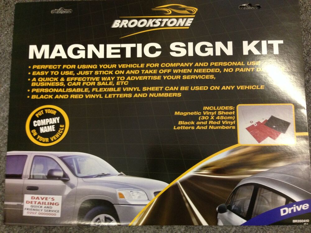 magnetic car signs are - photo #37
