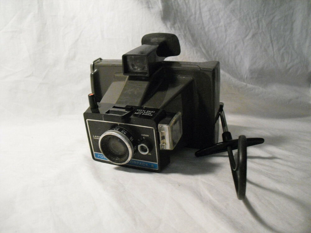 polaroid colorpack ii land camera colorpack 2 vintage collectible 1969 1972 ebay. Black Bedroom Furniture Sets. Home Design Ideas
