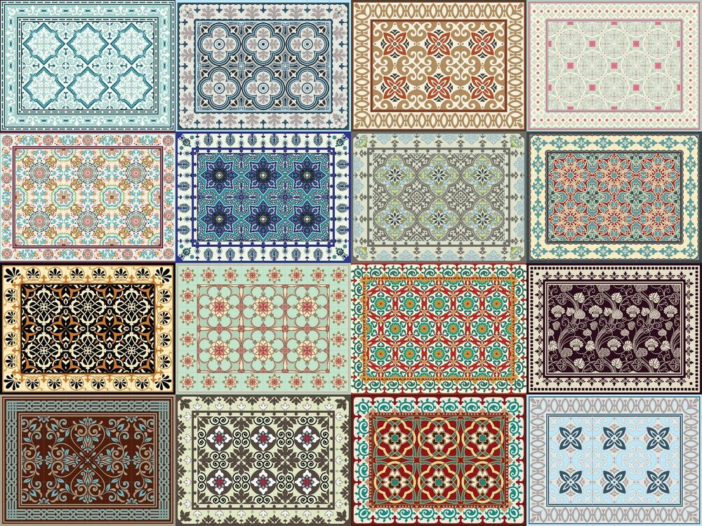 Red Decorative Kitchen Rugs