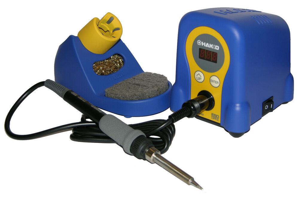 Digital Soldering Station : Hakko fx d by digital soldering station includes