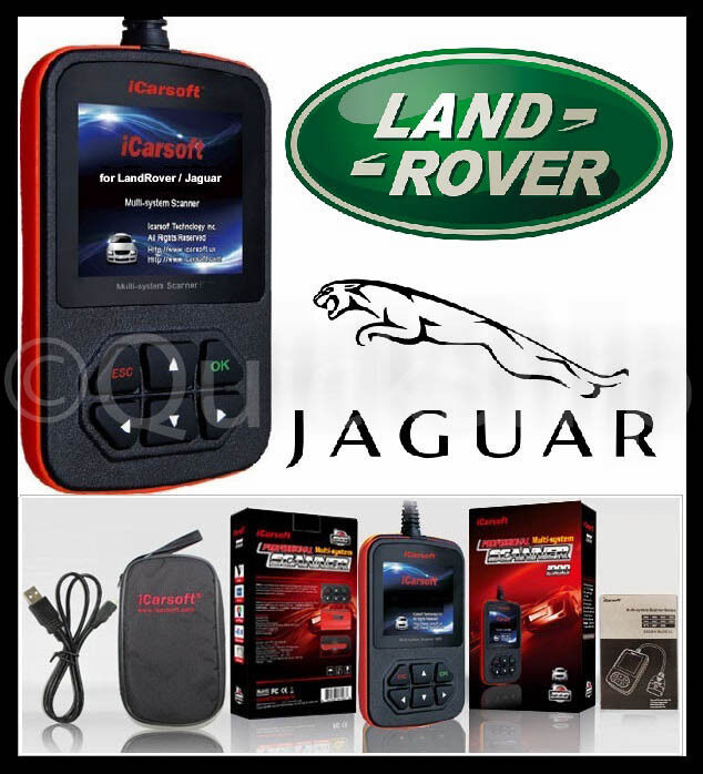 Jaguar Diagnostic Scanner Tool Srs Abs Check Engine Obd2