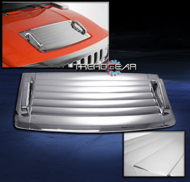 2006 2010 hummer h3 hood deck vent panel handle cover trim. Black Bedroom Furniture Sets. Home Design Ideas