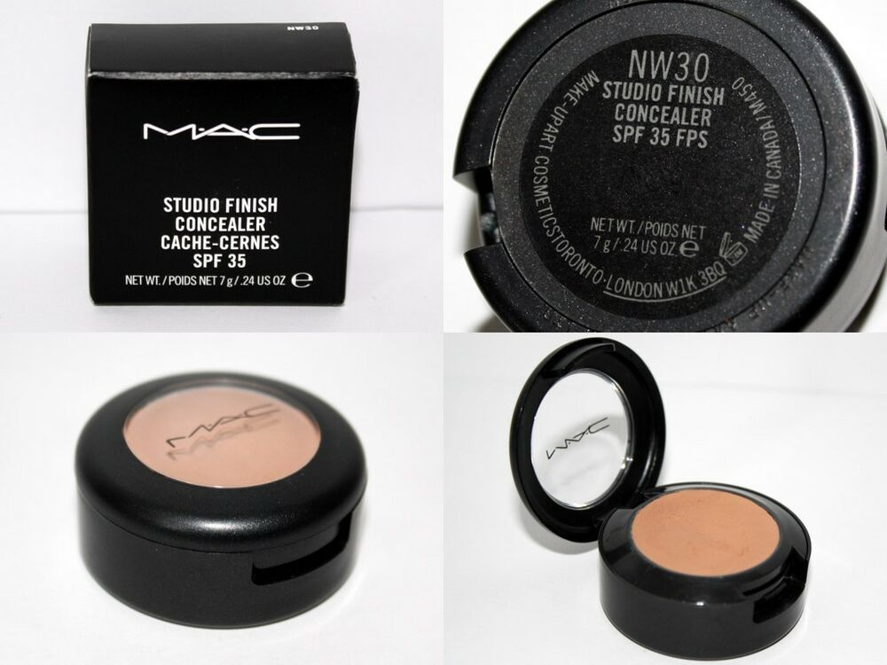 *NEW* MAC Studio Finish SPF 35 Concealer Available in 15 ...