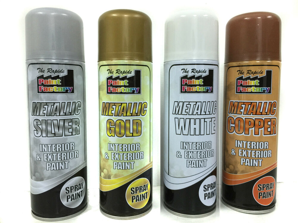 Metallic spray paint interior exterior use rapid spray - Can you use exterior primer inside ...