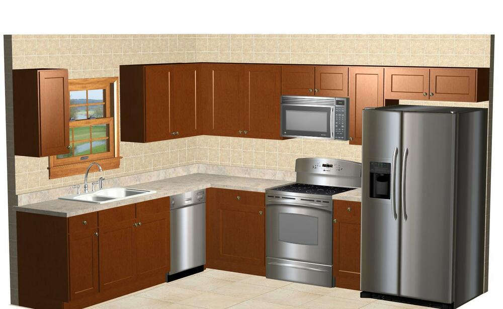 ebay used kitchen cabinets for sale kitchen kompact 20 l shaped glenwood beech kitchen 15129