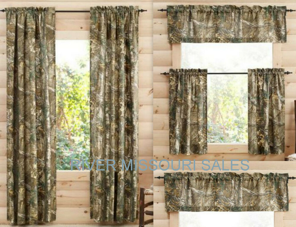 RealTree Xtra Camo Curtain Panels, Tiers, Sets of 2 And/Or ...