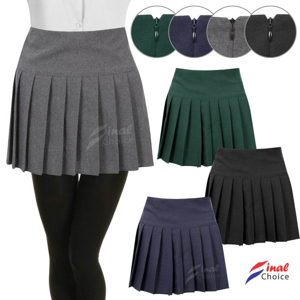 New Girls Kids Childrens Pleated School Skirts A Lot OF ...