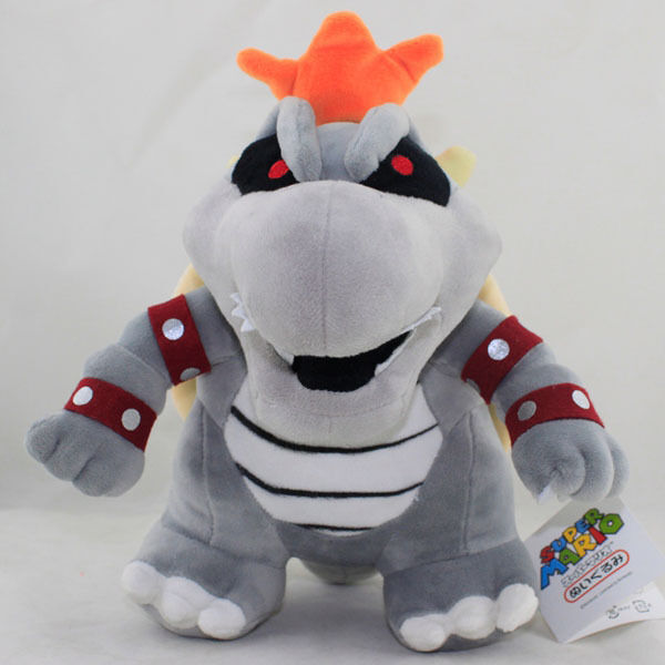 "Super Mario Bros. 11"" Dry Bowser Bones Koopa Plush Toy ..."