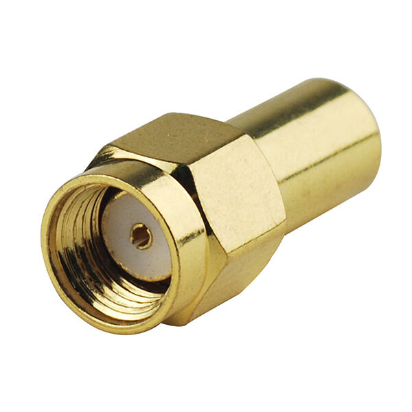 Coax Cable Connector Termination : Ohm rf coaxial loads termination rp sma male connector