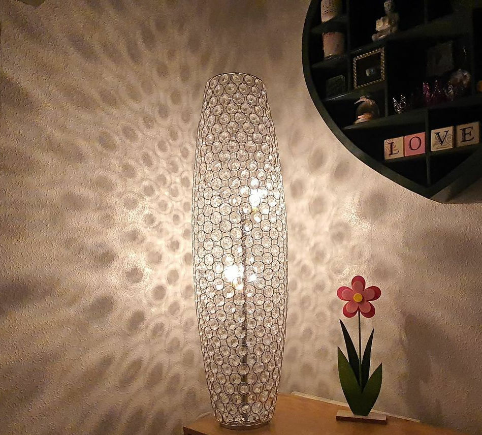 Floor Lamp Moroccan Style Cutwork Jeweled Brand New Ebay
