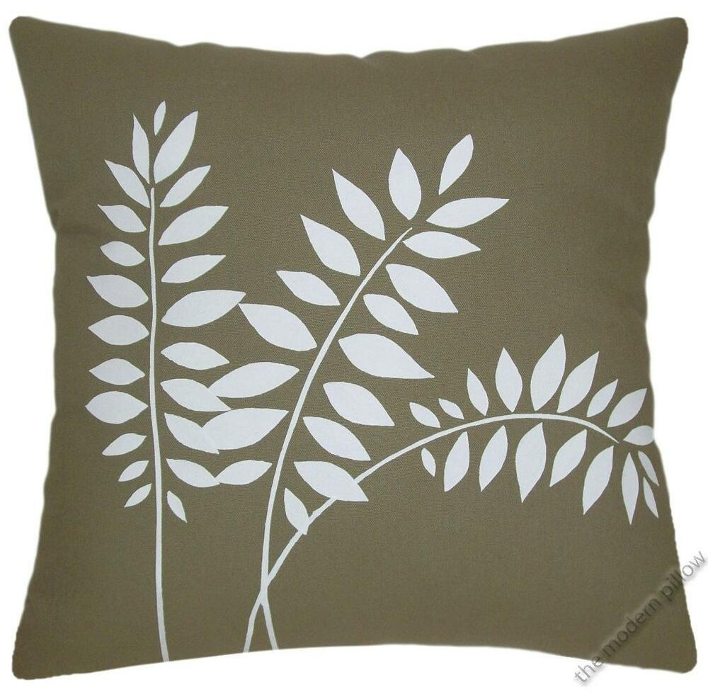 Moss Green Wheat Stalk Decorative Throw Pillow Cover  : s l1000 from www.ebay.com size 1000 x 977 jpeg 99kB