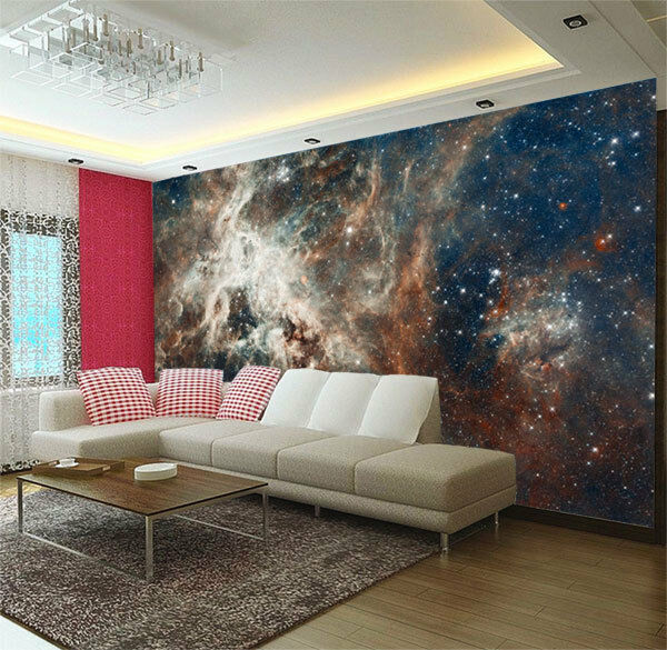 Cosmic dust 30 doradus space photograph full wall mural for Home wallpaper ebay