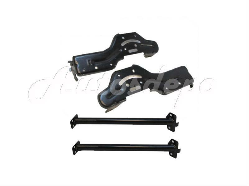 New Front Bumper Side Retainer Stay Brackets 4pcs For 04
