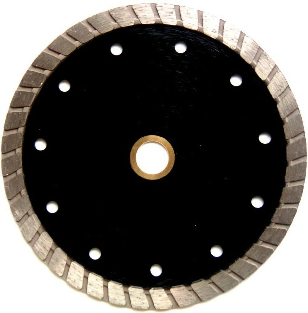 7 Quot Turbo Diamond Tile Saw Blade Concrete Masonry Wet Dry 5