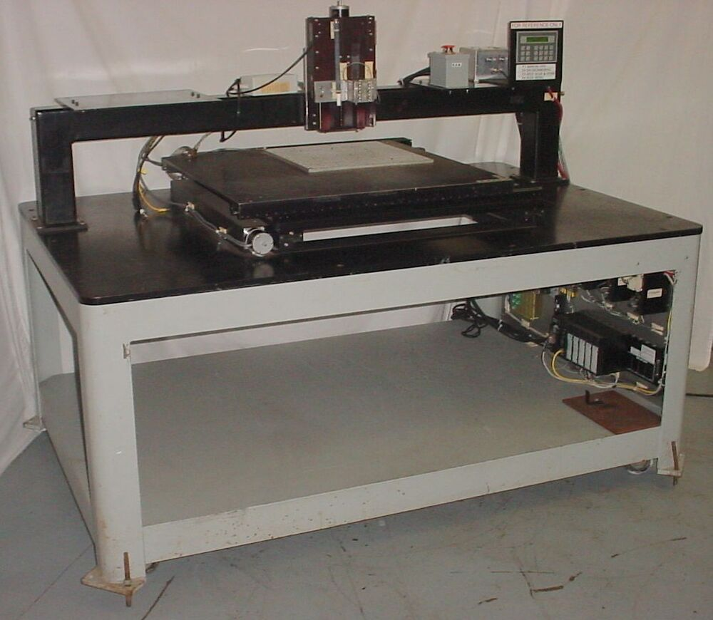 Maple systems dci hm 32x32 platform x y z positioning Motorized table