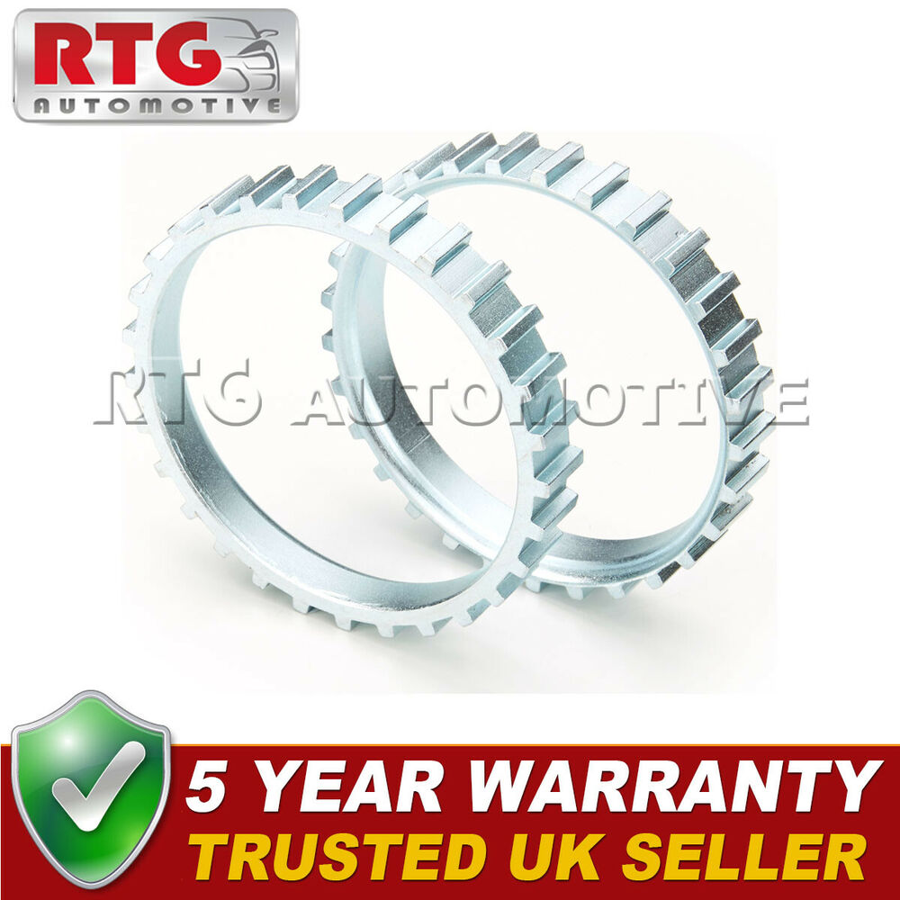 2X FOR VAUXHALL OPEL CALIBRA CAVALIER 29 TOOTH 66.91MM ABS RELUCTOR RING CV 0703