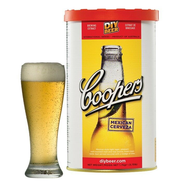 Coopers Mexican Cerveza Beer Kit Home Brew Beer Making Homebrewing Ebay