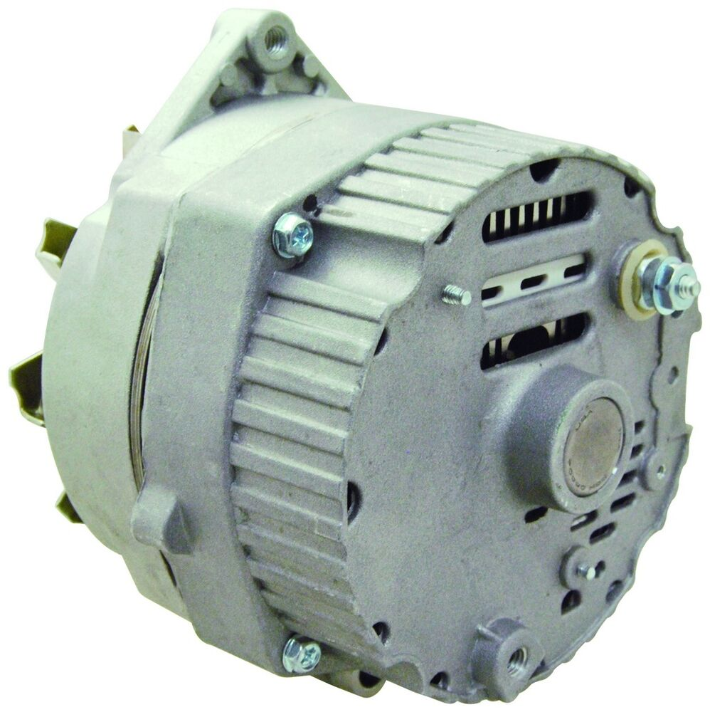 New Alternator Replaces Delco 10SI IR/EF 3 Wire System 63 Amp W/ V ...