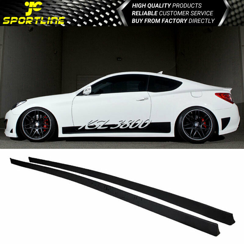 351 Best Genesis Coupe Images On Pinterest: Fits 2010 2011 2012 Hyundai Genesis Coupe Side Skirts