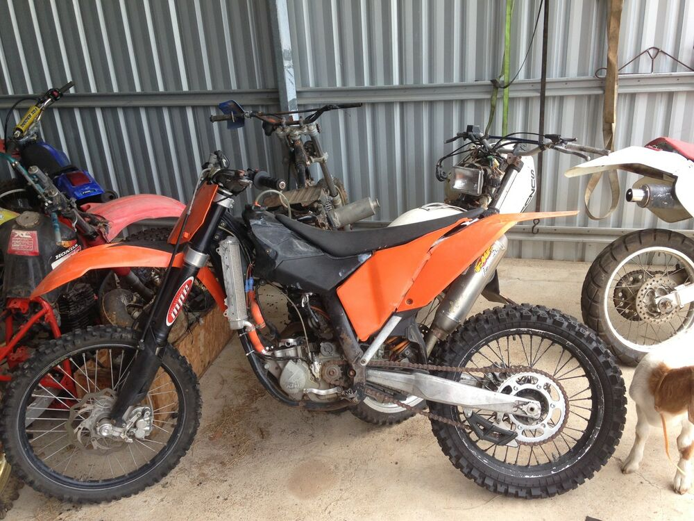 2007 07 Ktm 250 Sxf Ktm250 Front Guard Wrecking More Parts Avail