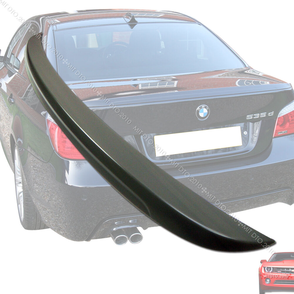 e60 bmw m5 5 series trunk spoiler rear wing 04 06 08 10. Black Bedroom Furniture Sets. Home Design Ideas