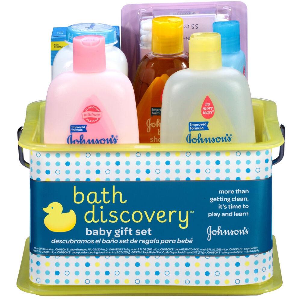 Baby Gift Bath Sets : Johnson s baby bathtime essentials shower items gift set