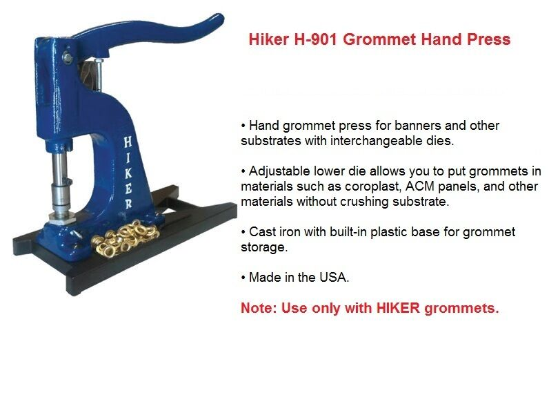 hiker grommet machine