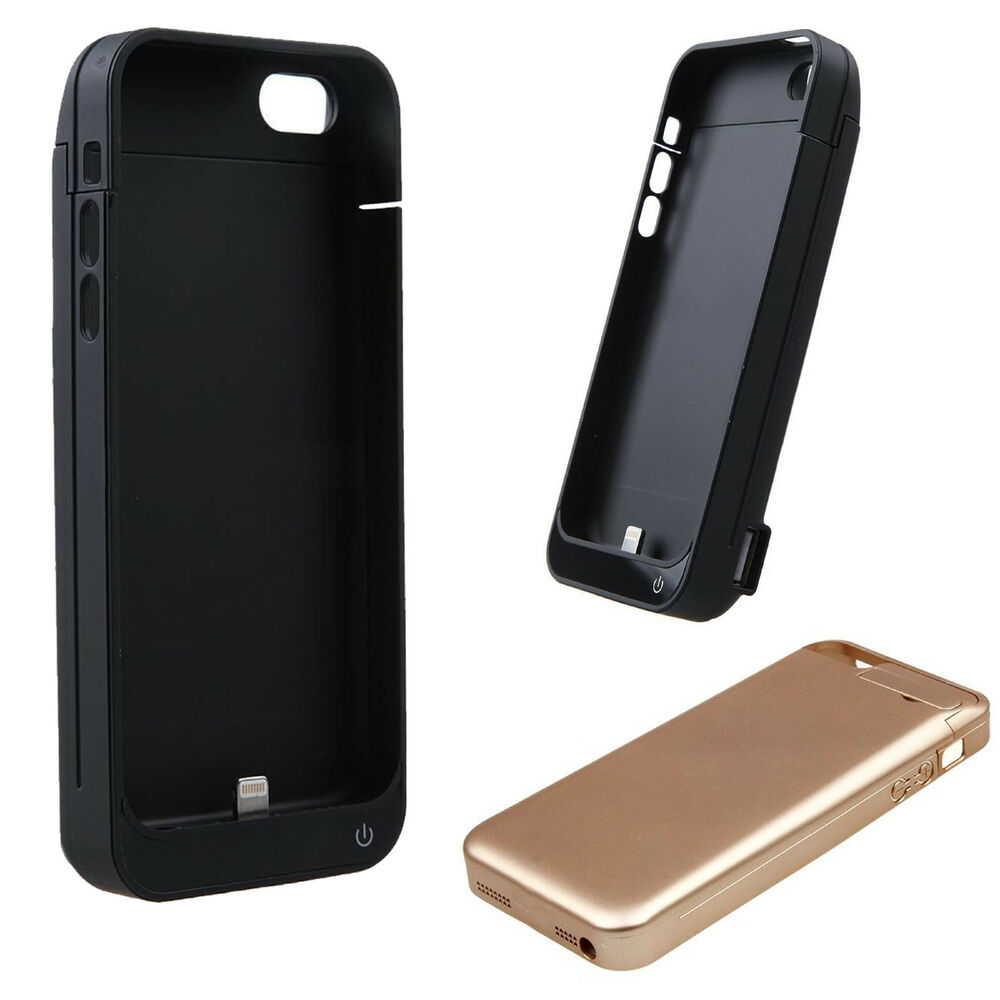 4200mAh External power bank Charger pack backup battery case for iphone 5 5S 5C | eBay