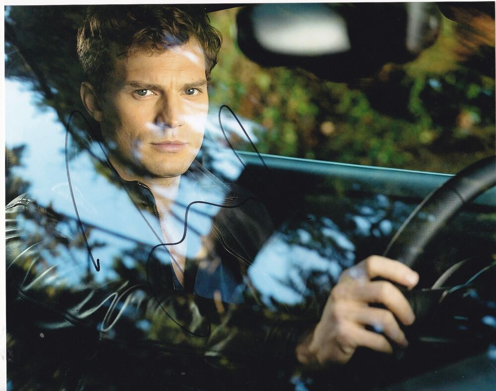 JAMIE DORNAN SIGNED 8X10 PHOTO FIFTY SHADES OF GREY ...
