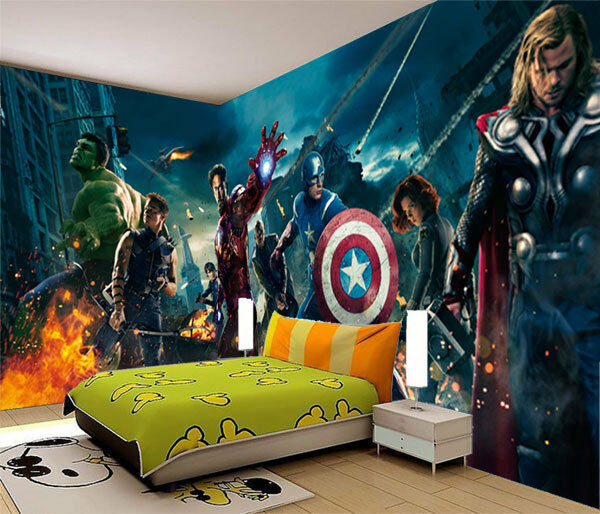 avengers marvel heros iron man 3d full wall mural photo