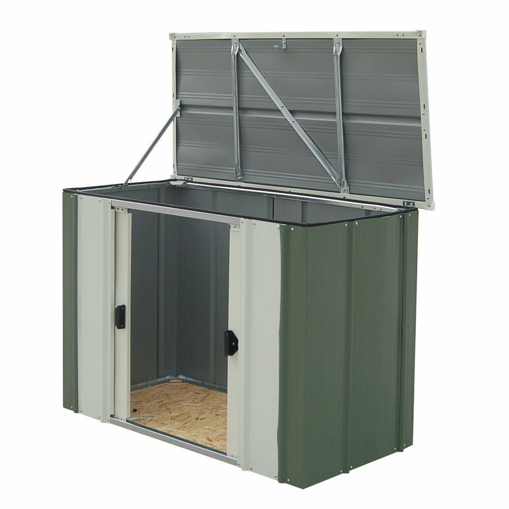 Outside Storage Units: 4ft X 2ft. Outdoor Storage