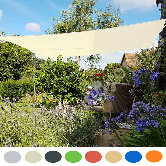Sun Shade Sail Garden Patio Party Sunscreen Awning Canopy