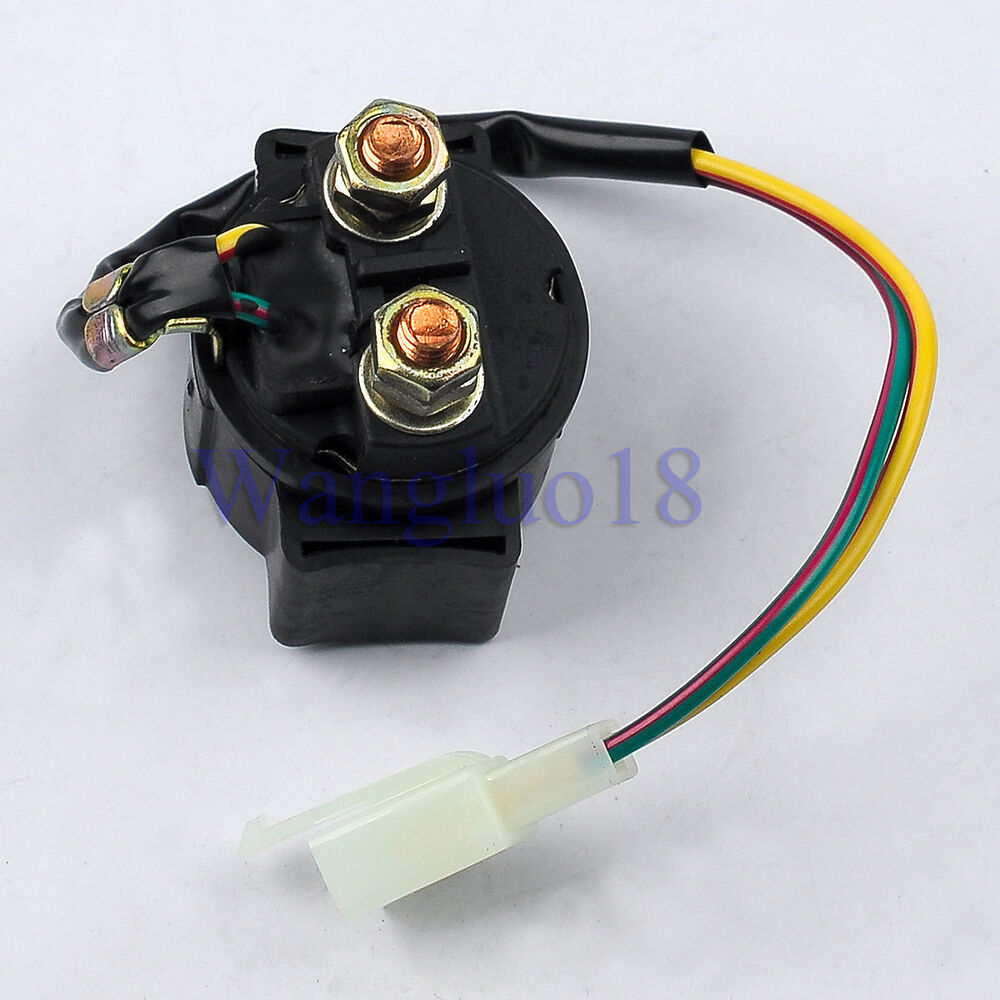 Chinese Gy6 Scooter Atv Starter Relay Solenoid 50cc 125cc