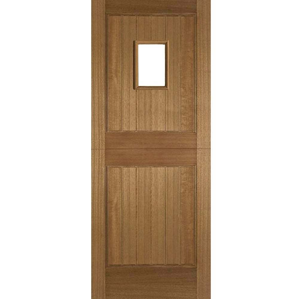 External hardwood stable doors 1 light unglazed cottage for External hardwood doors