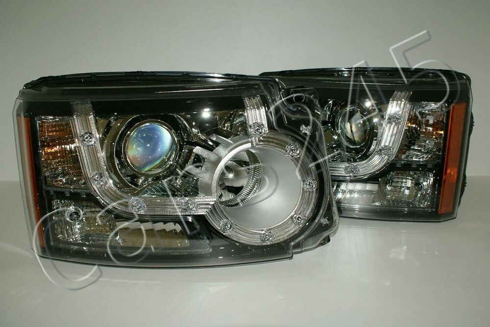 Land Rover Discovery Iv 4 Lr4 D4 Headlights Front Lamps