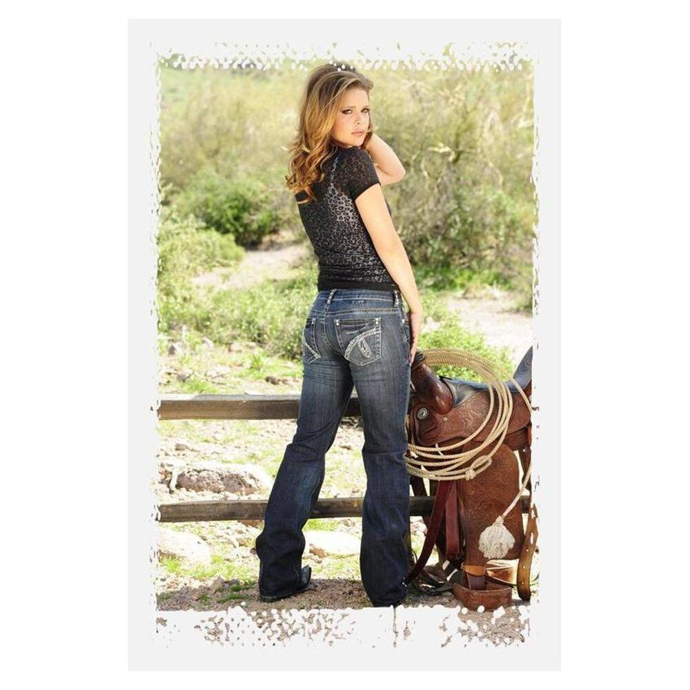 Womens Extra Long Jeans