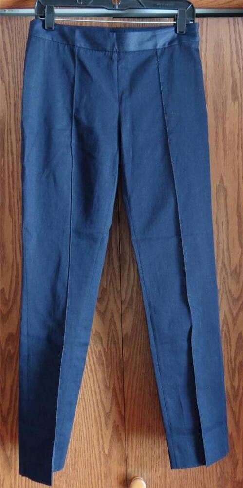 New Brooks Brothers Side Zip Front Seam Jeans Sizes 2 Or 4 Ebay