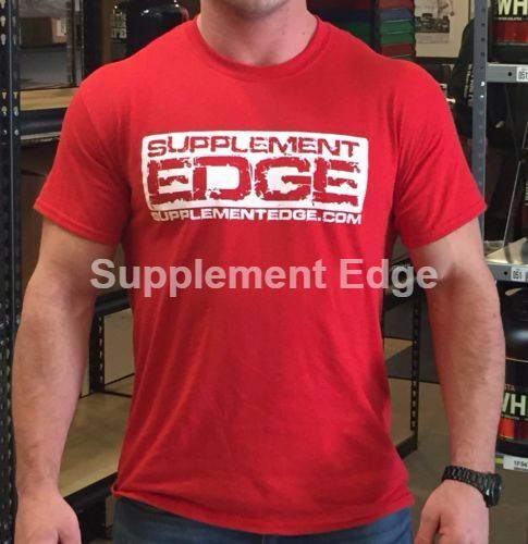 Supplement Edge T-Shirt + **3 Free Samples** Free Shipping Pick Size/Color