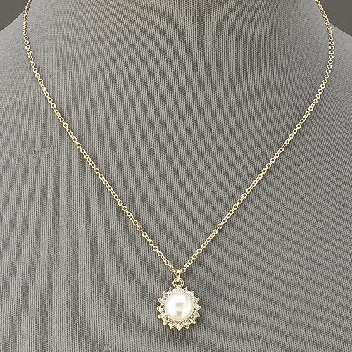 Gold Simple Elegant Thin Chain Necklace With Pearl. Shank Rings. Costume Gold Jewellery. Gold And Diamond Wedding Band. Setting Diamond. Copper Jewelry Necklace. Set Gold Jewellery. Chain Pendant. Table Rings