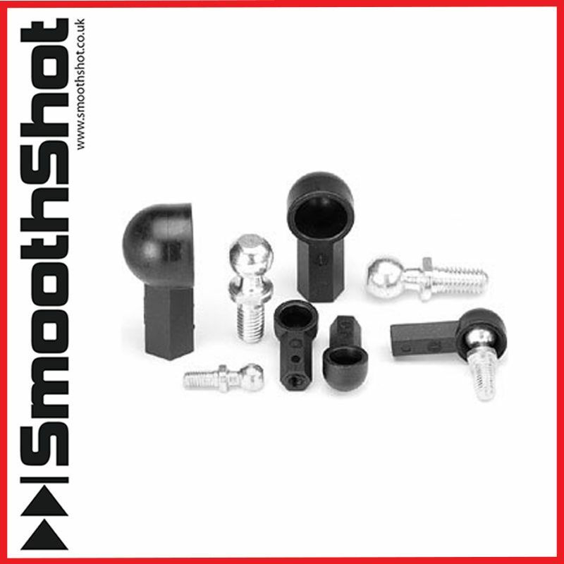 Ball and socket angle joint gimbal m right hand thread