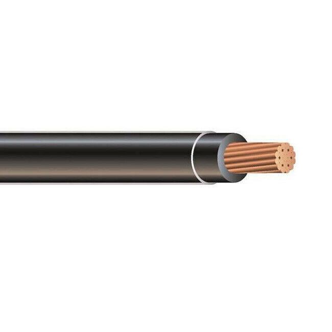 3 Copper Cable : Awg thhn thwn copper conductor building wire cable