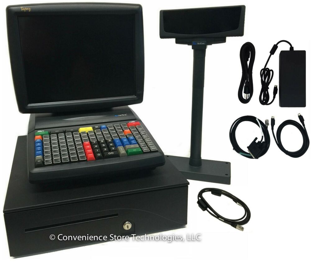 Verifone Topaz Xl Ii Touch Screen System P050 02 310 For