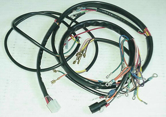 new 1977 1978 xlcr harley davidson main wiring harness ebay. Black Bedroom Furniture Sets. Home Design Ideas